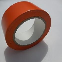Adhésif PVC orange batiment - tous travaux