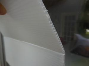 plaque de protection PROTECTPLAK fenêtre