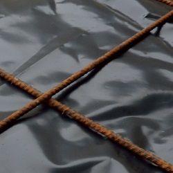 Film sous dallage noir - bache noir - film Polyéthylène - bache protection - bâche de protection