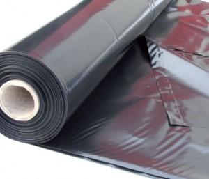 Film PE noir anti-uv opaque sous dallage - bâche PE - film polyethylene - Polyéthylène