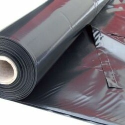 Film PE noir anti-uv opaque sous dallage - bache noire - film Polyéthylène - bache protection - bâche de protection
