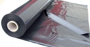 Film PE noir anti-uv opaque sous dallage - film polyethylene - Polyéthylène