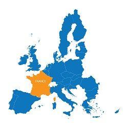 KINGPRO protection de chantier - carte france europe