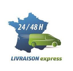 Livraison express 24 48 h - chantier travaux construction BTP