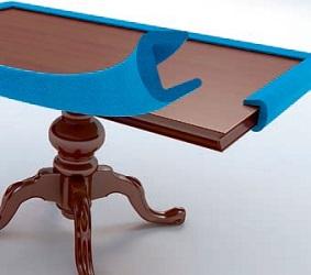 Mousse de protection - Profilés mousse de protection de chantier pour vos batis de porte - rampes d'escalier - meubles