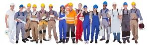 Métiers, corps d'états, travaux, chantier, protection temporaire
