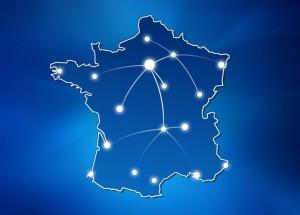 carte france logistique