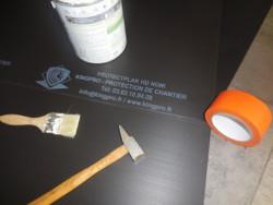 Panneau 2mm de protection chantier sol