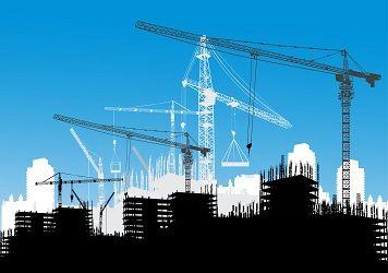 BTP et autres industries grue construction travaux rénovation