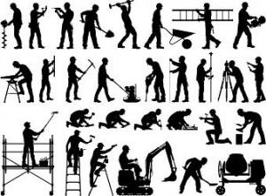BTP et autres industrie métiers construction travaux rénovation