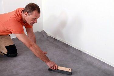 Protection de sol plastique - linoleum, vinyle, PVC