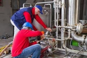 Maintenance industrielle - protection de surface / cloison souple