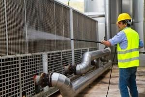 Nettoyage bâtiment - protection de surface