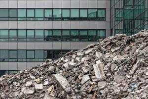 Travaux de démolition - protection de surface / chantier