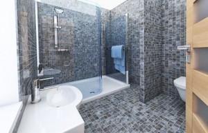 Travaux de salle de bain - protection de surface