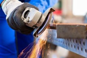 Travaux de serrurerie - protection du métal