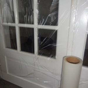 Protection porte fenêtre - Protection film adhésif
