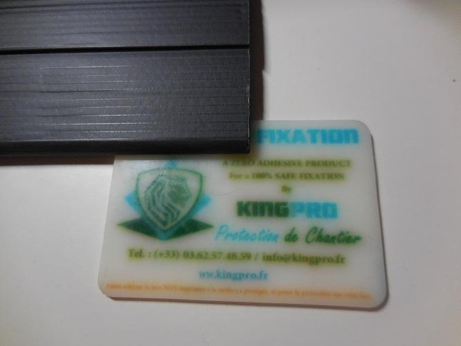 Fixation KINGPRO pour protection temporaire
