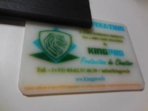 Fixation innovante KINGPRO pour protection