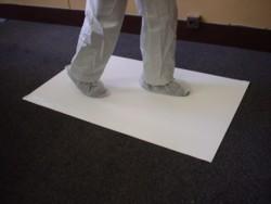 Tapis collant pelable anti-poussière ZONEPROTECT salle propre