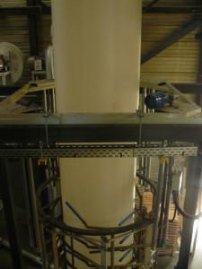 Polyéthylène bache pliage film après extrusion KINGPRO