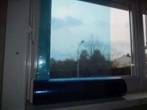 protection fenêtre chantier