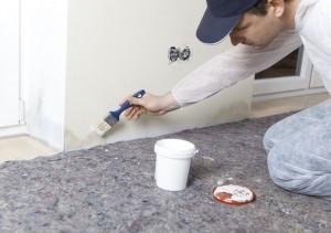 Moquette de protection pour travaux peinture