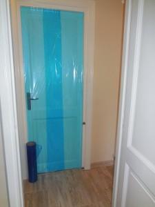 Protéger les portes pendant les travaux
