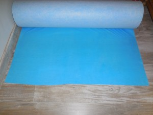 Protection de parquet - non tissé fibre
