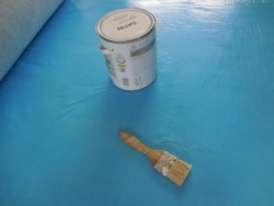 Protection de sol en parquet - travaux chantier