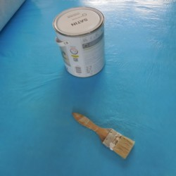 Protection de sol en parquet - travaux chantier