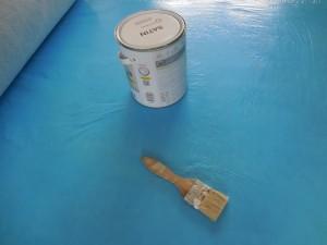 Protection de sol pour peintre - travaux peinture chantier