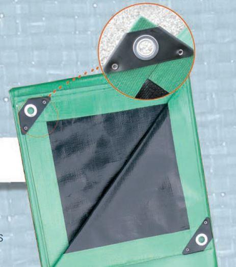 Bâche PE PVC - Filets de protection