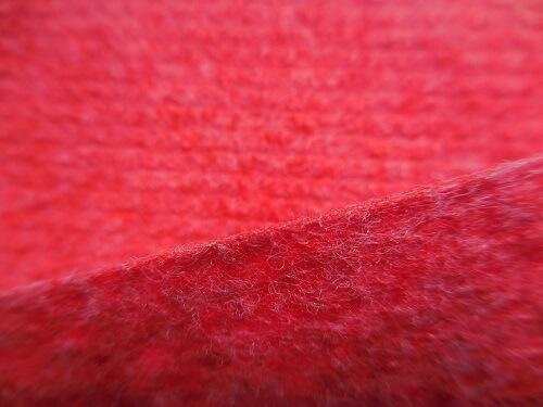 Moquette de protection chantier travaux - moquette aiguilletée rouge