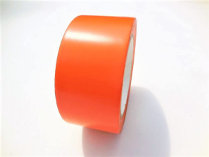 Adhésif PVC orange batiment
