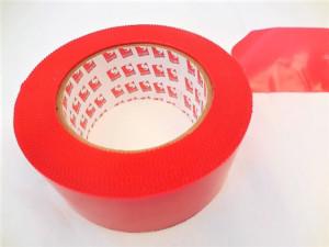Adhésif thermo-rétractable PE - SCAPA - très forte adhérence - rouge