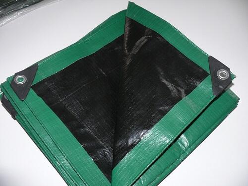 b che ultra lourde 240g m bicolore verte et noire anti uv kingpro. Black Bedroom Furniture Sets. Home Design Ideas