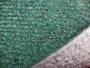 Moquette de protection chantier travaux - moquette aiguilletée - verte foncée