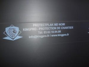 Plaque de protection PROTECTPLAK MDN - chocs moyens