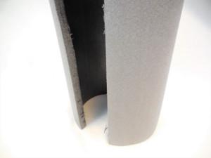 Profilé mousse - bâti de porte mousse ignifugé M1 - prédécoupé