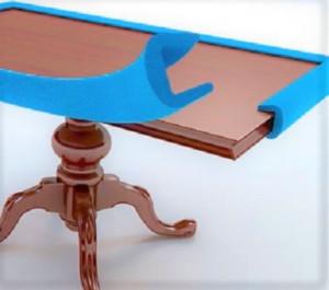 Profilés mousse de protection de chantier pour vos batis de porte - rampes d'escalier - meubles
