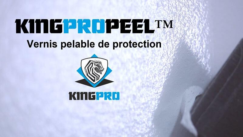 vernis pelable de protection kingpropeel ld peinture de protection pelable surfaces lisses. Black Bedroom Furniture Sets. Home Design Ideas