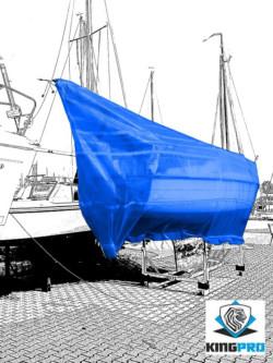 Bâche armée blanche de protection KINGPRO - protection de bateaux et navires