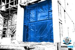 Bâche armée transparente de protection - KINGPRO 85gm² 2mx100m 3mx50m - 100gm² 6mx30m