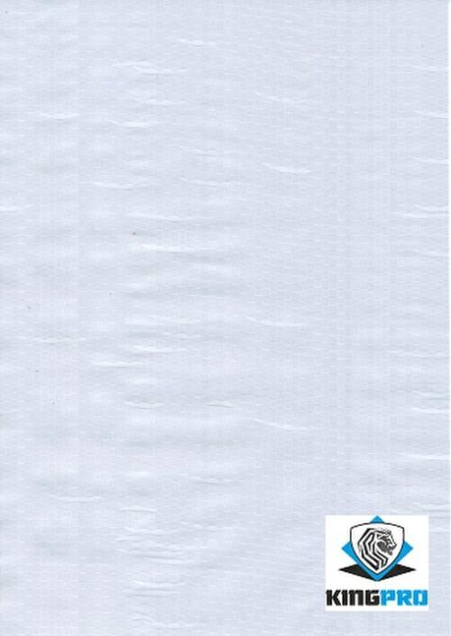 Bâche spéciale clôture mobile de chantier - KINGPRO - blanche