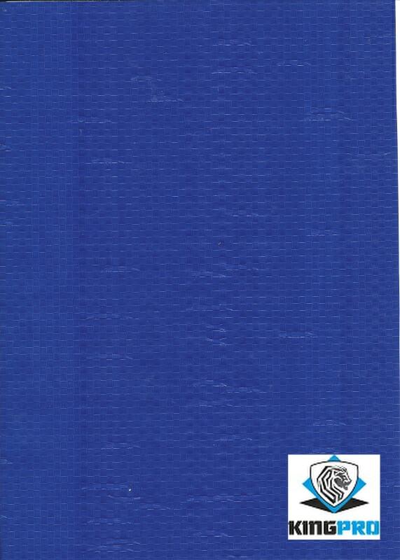 Bâche spéciale clôture mobile de chantier - KINGPRO - bleue