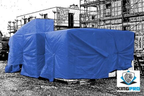 Bâches PE lourdes 160gm² pour protection diverses - multi-usages - KINGPRO