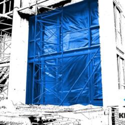 Bâches armées transparentes pour façades