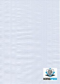 Bâche ultra-lourde 240gm² anti-UV blanche KINGPRO - protection couverture toiture chantier