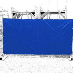 Bâches pour clôtures mobiles de chantier